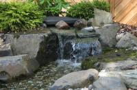 Будівництво  водоспаду, водного каскаду, струмка та фонтану.