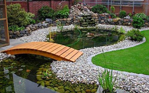 Декоративный искусственный водоем, источник:backyardboss.net