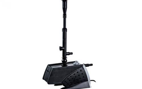 фонтанный насос 6900 л/ч, выcота струи фонтана 3 м R1/2, пульт управления