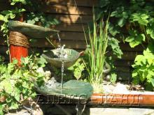 декоративний ставок з водоспадом
